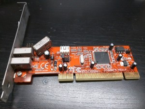 Junk IEEE1394 interface card